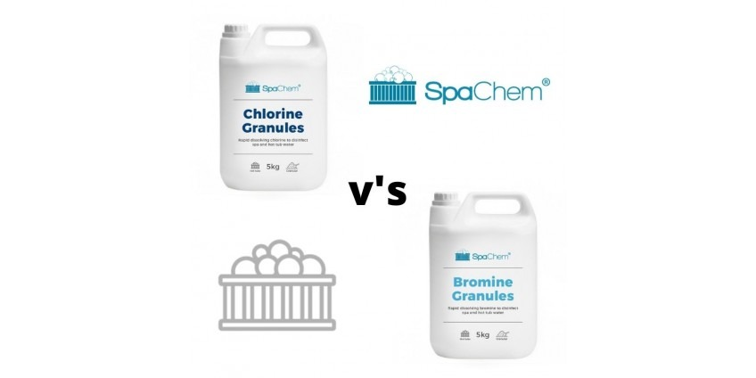 Sanitisers: Chlorine v's Bromine – which one should you use?