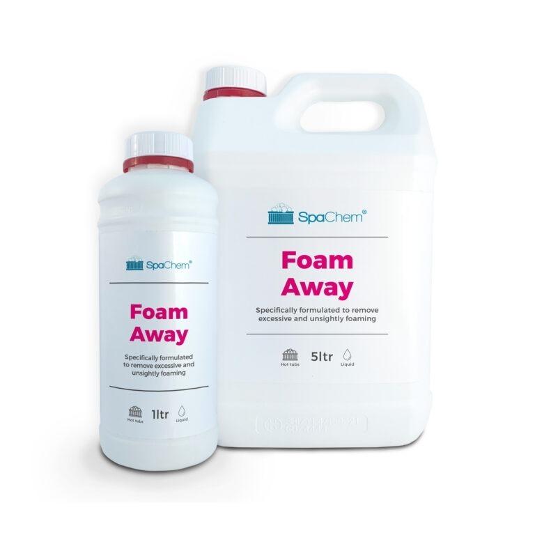 SpaChem No Foam, Foam Away